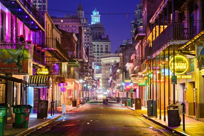 Bourbon Street! Click through to see our top 10 things to do in New Orleans!