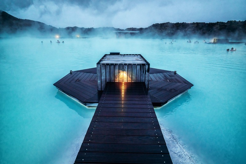 Blue Lagoon in Reykjavik Iceland
