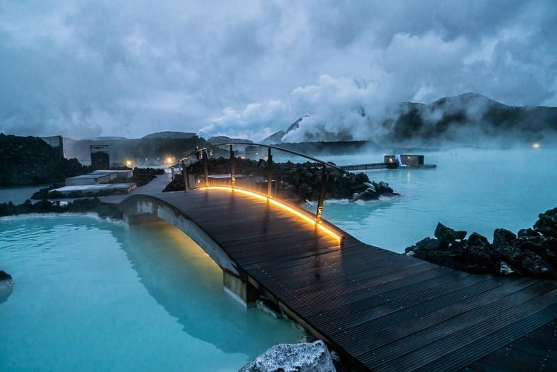 Geothermal Spa Blue Lagoon In Reykjavik