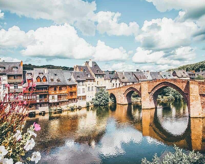 Espalion Village France