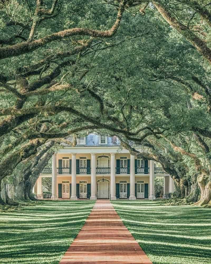 Top Things to do in New Orleans. Plantation Homes in New Orleans! New Orleans is an incredibly unique city with so many beautiful places to see. Check out our favorite spots in New Orleans on AvenlyLaneTravel.com #avenlylane #avenlylanetravel #neworleans #traveldestinations #travelblogger #travelinspiration #usatravel
