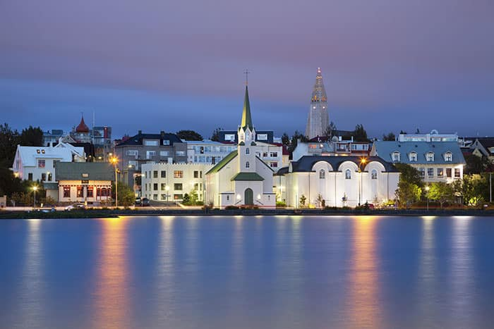 Reykjavik, Iceland's capitol is one of the cleanest, safest, and happiest cities in the world. Even though it only has an urban area population of around 200,000, it is the home of the vast majority of Iceland's inhabitants. Click through to read more on the gorgeous city!