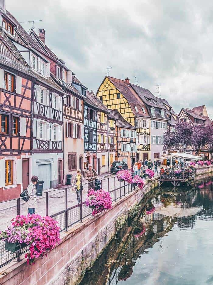 Small Towns in France You Have to Visit - Colmar, France. When most people think France, they immediately think Paris, and often times it is unfortunately the only city they visit.  Here are 9 of the most beautiful small towns in France, that are NOT Paris.