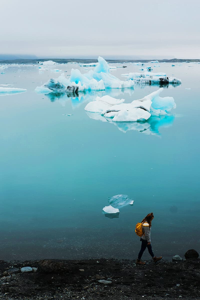 Glacier Lagoon in Iceland! Read about the top 10 things to do in Iceland on AvenlyLaneTravel.com