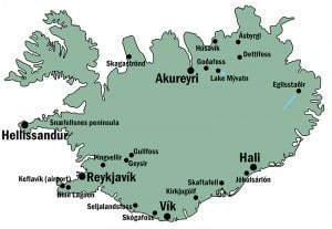 Vik Iceland Map!