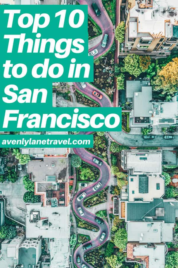 Best Things to do in San Francisco, California USA! You don't want to miss these! San Francisco has so many incredible city photography spots it can be hard to know which ones are a must see. Click through to www.avenlylanetravel.com to see the best things to do in San Francisco, including the Painted Ladies, The Golden Gate Bridge, the beautiful beaches, Lombard Street, Alcatraz Island and so much more. #sanfrancisco #california #usatravel #usa #travelblog #travel #wanderlust