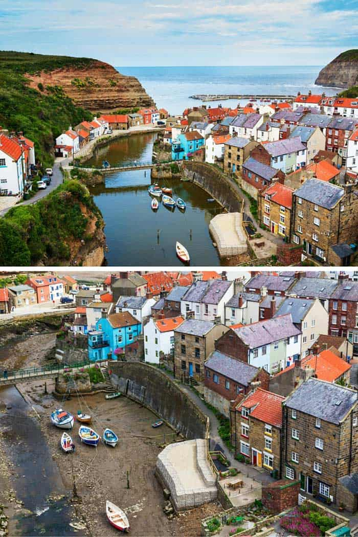 Staithes, North Yorkshire Village! Click through to see 25 of the most gorgeous villages in the world!