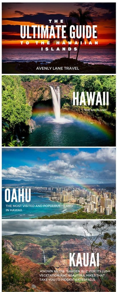 The Ultimate Guide to all of the Hawaiian Islands! Click through to AvenlyLaneTravel.com to read more! #Hawaii #Islands