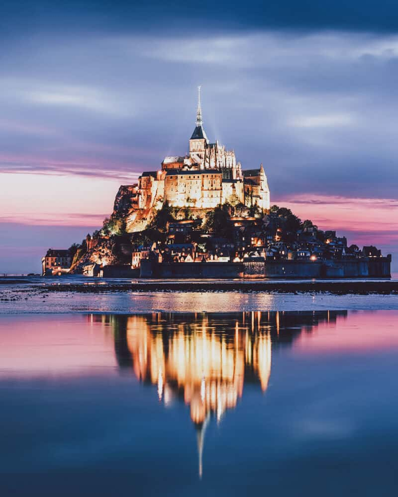 Mont Saint Michel, France! Major travel inspiration here! The Most Beautiful Fairytale Castles in the world Last week I undertook a major hunt to find the most beautiful and fairytale-esque castles in the world. #castles #AVENLYLANETRAVEL #AVENLYLANE #europe #travelinspiration #castle #france