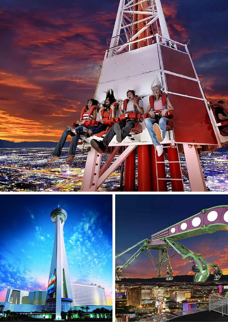 Adventure Rides at the Stratosphere