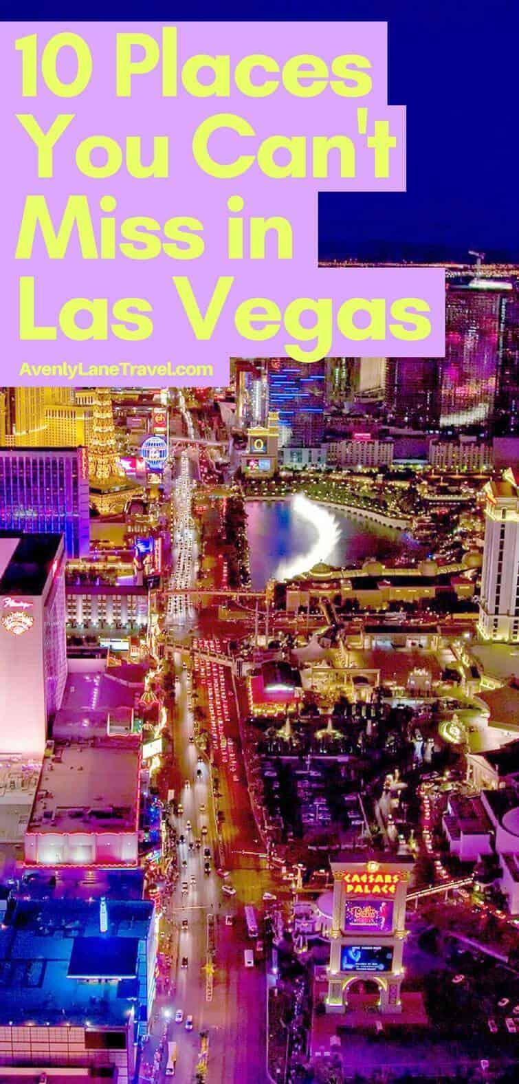 Las Vegas Strip! See the top 10 things to do in Las Vegas, Nevada.