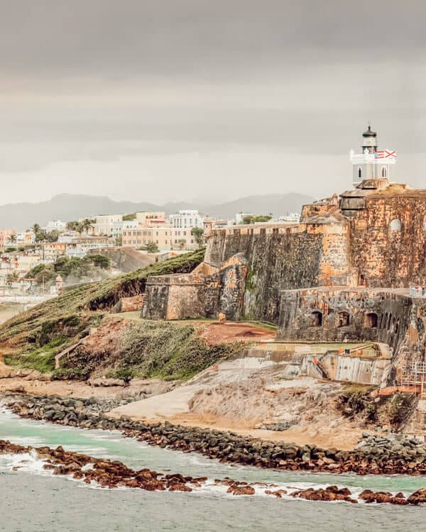 Fort San Felipe del Morro in puerto rico.