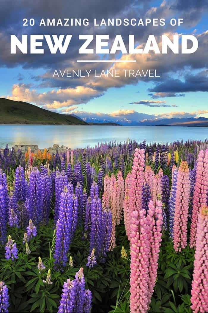 20 Incredible Landscapes You Can Only Find In New Zealand! Lake Tekapo is fed by glacier runoff, which helps transport silts that give the lake its special color and enable the shore to grow its unique lupines. Click through to see the whole post.