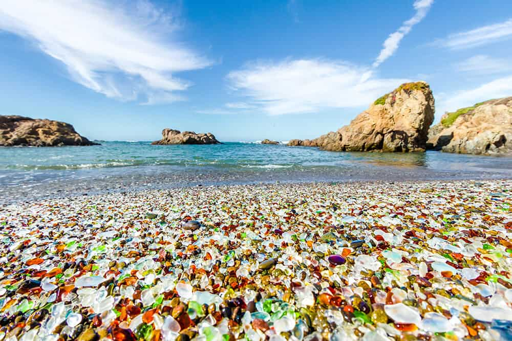 Glass Beach in Fort Bragg California!