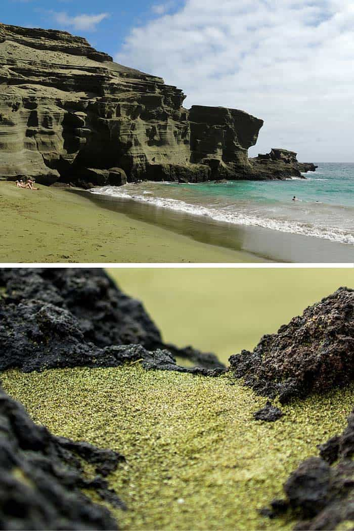 Papakolea Beach – Kaʻū, The Big Island