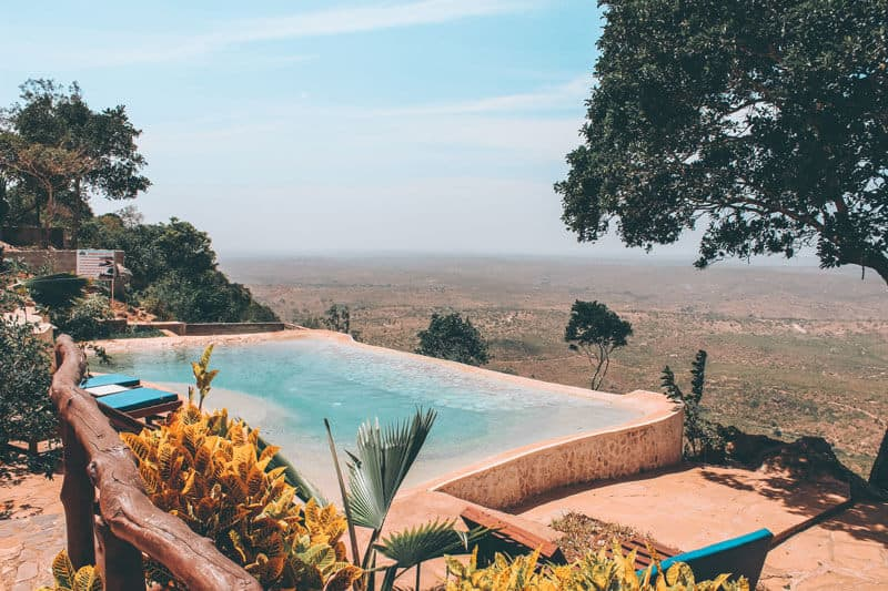 African Safari Lodge & Resort Pool in Kenya
