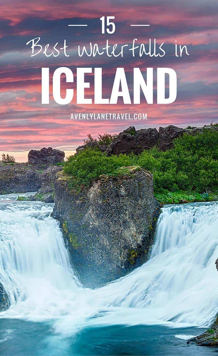You do not have to look very hard to find waterfalls in Iceland. They are literally everywhere; while driving around the island we unexpectedly ran into amazing waterfalls we didn't even know were going to be there. Check out 15 of the BEST waterfalls in Iceland! #iceland #waterfalls #avenlylane