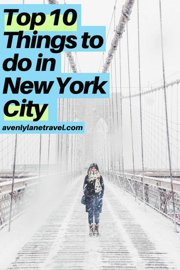 Top 10 things to do in New York City! New York Itinerary