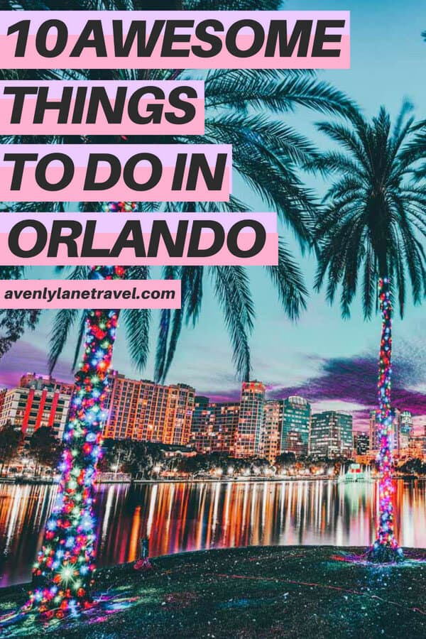 Yes, Orlando is home to Mickey Mouse! Disney World is the most visited theme park on Earth, and truly is a magical place. The point of this post is to highlight that the city of Orlando features tons of non-Disney things to see and do. #orlando #florida #beach #usatravel #usa #traveltips #avenlylanetravel #avenlylane