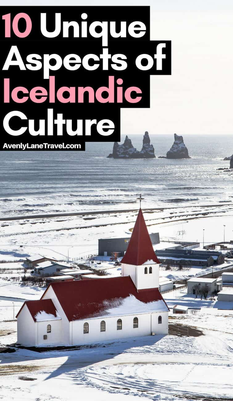 Iceland is a fantastic place to visit. The geography is what attracts most people, but the Icelandic culture only adds to the allure of the island. Click through to see 10 unique aspects of Icelandic Culture. | Avenlylanetravel.com