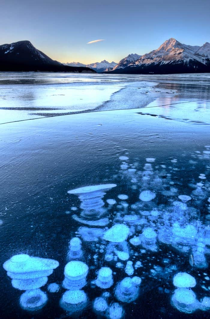 Lake Abraham, the Methane Lake in Alberta Canada! #canada #travel #alberta