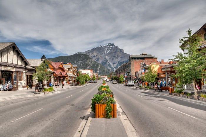 111bigstock-Banff-Townsite-In-The-Canadian-69566413