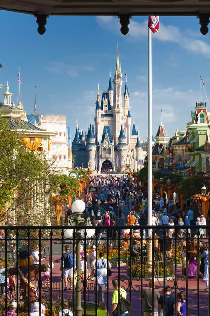 The most popular Florida cities you have to visit! Disney World castle in Orland, Florida!