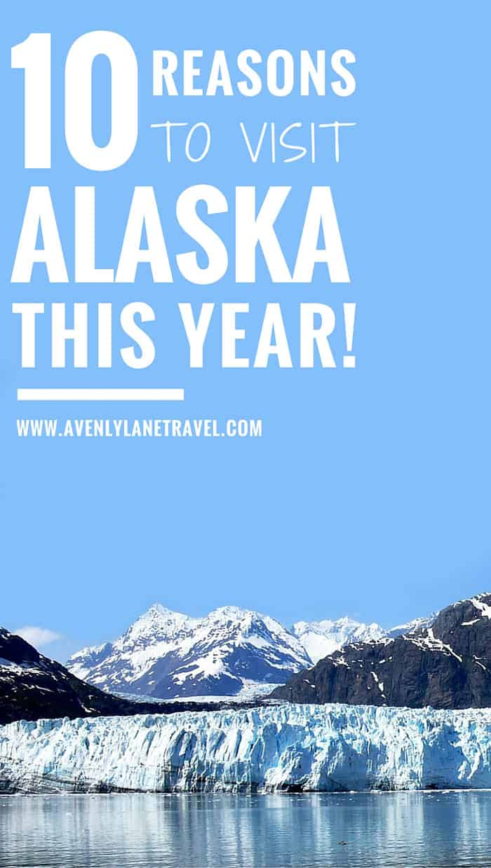 Many people do not realize that Alaska is an amazing vacation spot, only thinking of it as frozen tundra, or attractive to the hard core mountain men and grizzly bears. Both of these perceptions are wrong. Click through to read 10 reasons why you need to visit Alaska this year!