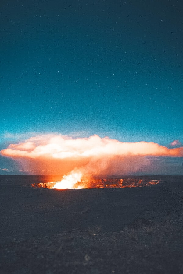 Kilauea Crater (caldera), The Big Island