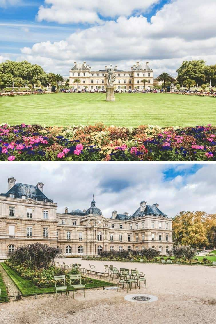 Palais de Luxembourg in Paris, France. It can be hard to know what you should see in Paris and what you should skip. Here is a list of the top things to see your first time in Paris. These Paris travel tips will you help as you as you explore the history, culture, food and top places to visit in Paris, France. Avenlylanetravel.com | #paris #france #europe #travel #photography #avenlylanetravel #travelinspiration #travelblog #beautifulplaces #traveltips #eiffeltower #bucketlist #europetravel