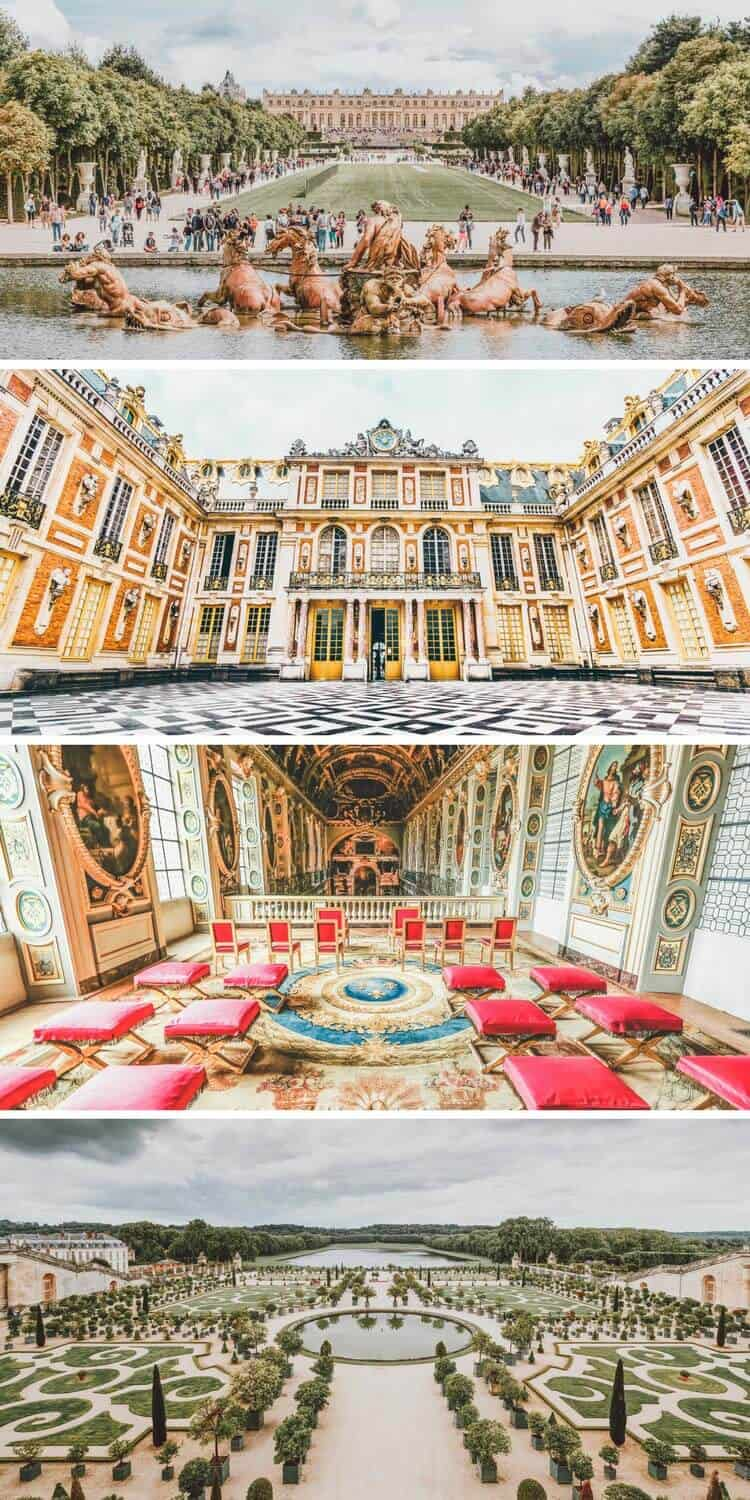 Versailles – Castle and Gardens. op 10 Things You Have to see Your First Time in Paris! These Paris travel tips will you help as you as you explore the history, culture, food and top places to visit in Paris, France. Versailles palace and gardens is a must see even if you only have 3 days to spend in Paris. Avenlylanetravel.com | #paris #france #europe #travel #photography #avenlylanetravel