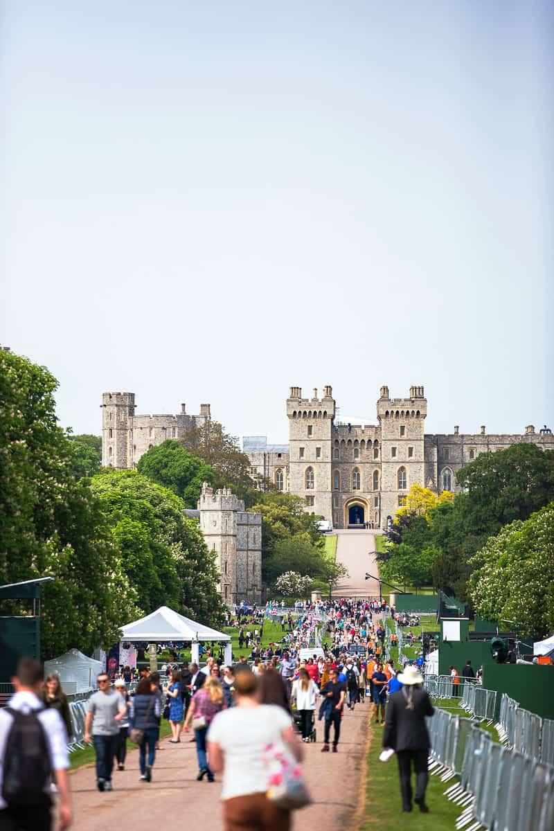 Windsor Castle in London