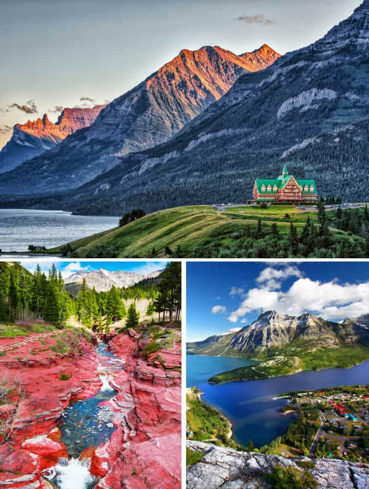 Top things to do in Alberta Canada! Waterton Lakes National Park.