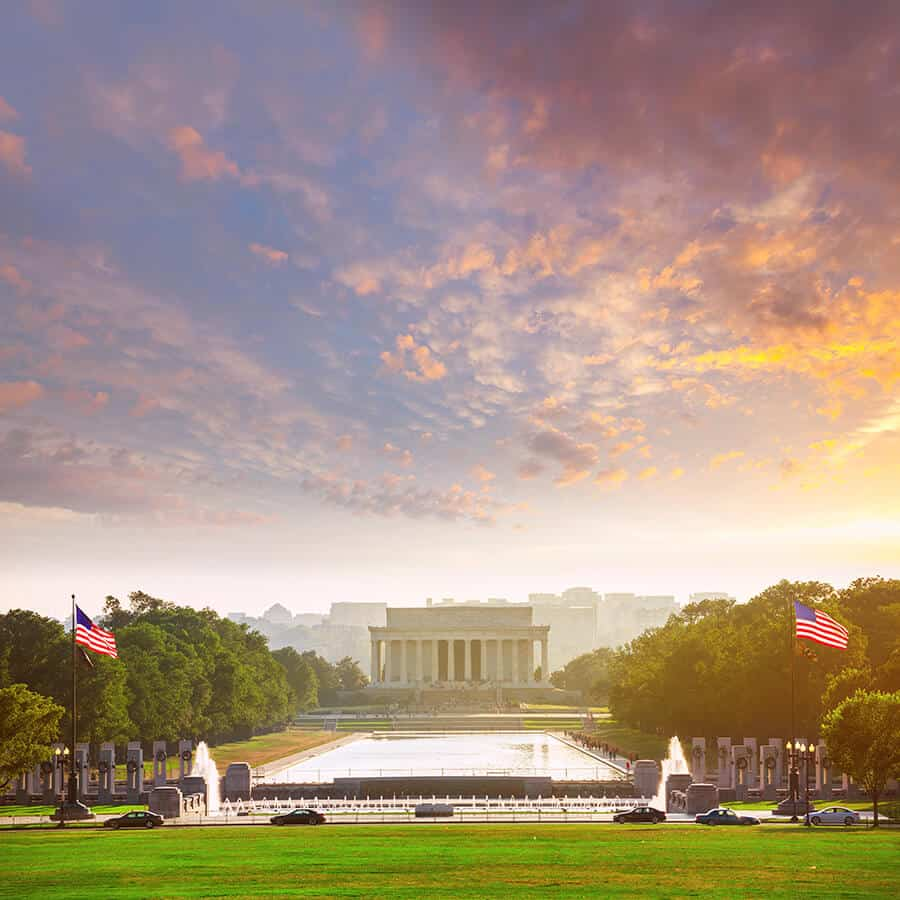 Abraham Lincoln Memorial. Top 10 things to do in Washington, DC.