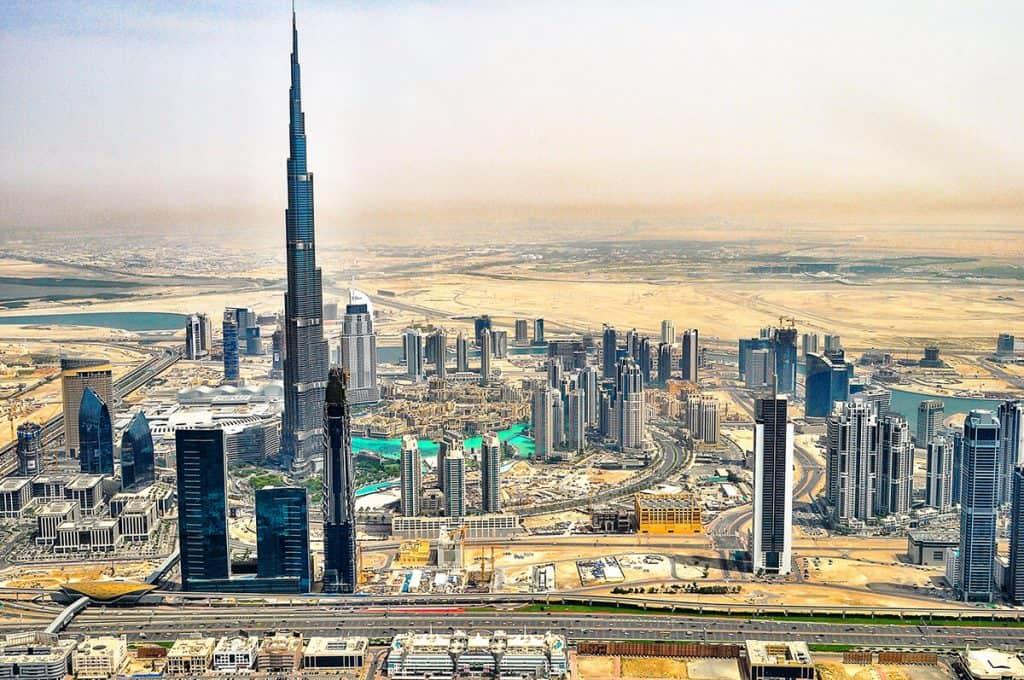 Incredible city of Dubai!