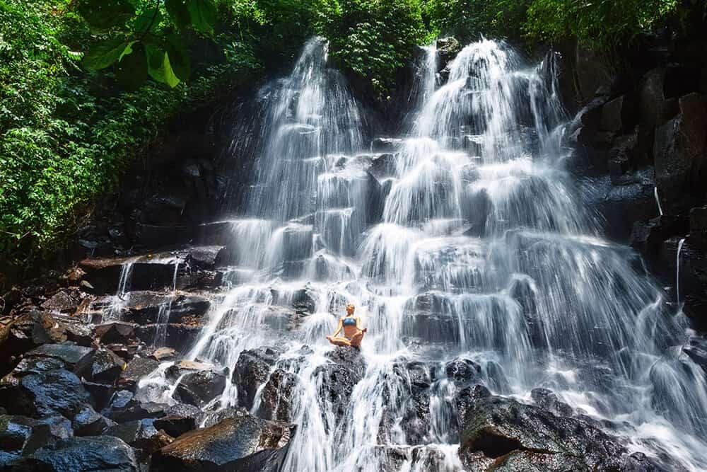 Jembong Waterfall Bali Indonesia