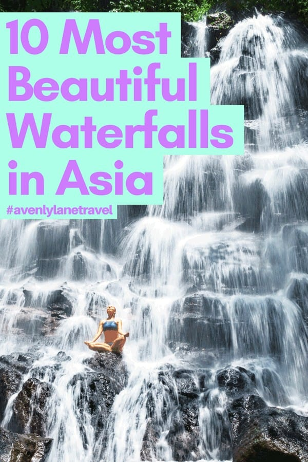 Asian waterfalls - The best waterfalls in Asia