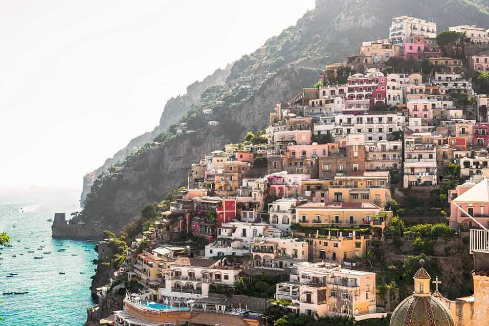 Almafi Coast in Italy! One of the best honeymoon destinations in Italy!