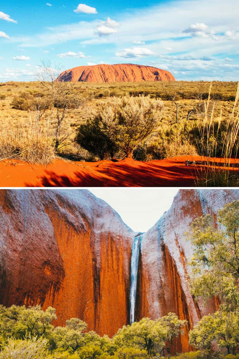 Australia Attractions: Uluru (Ayers Rock). See the 5 Best Natural Wonders of Australia!