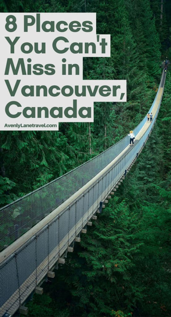 Vancouver Canada Attractions! Cool things to do in Vancouver, BC! #canada #vancouver #travel #beautifulplaces #avenlylanetravel