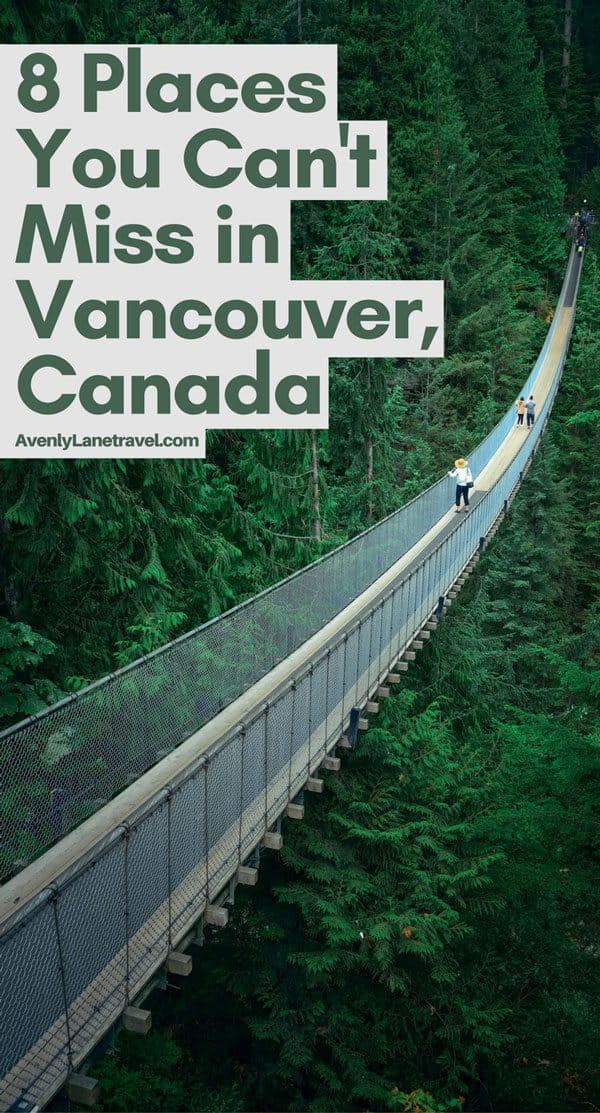 Vancouver Canada Attractions