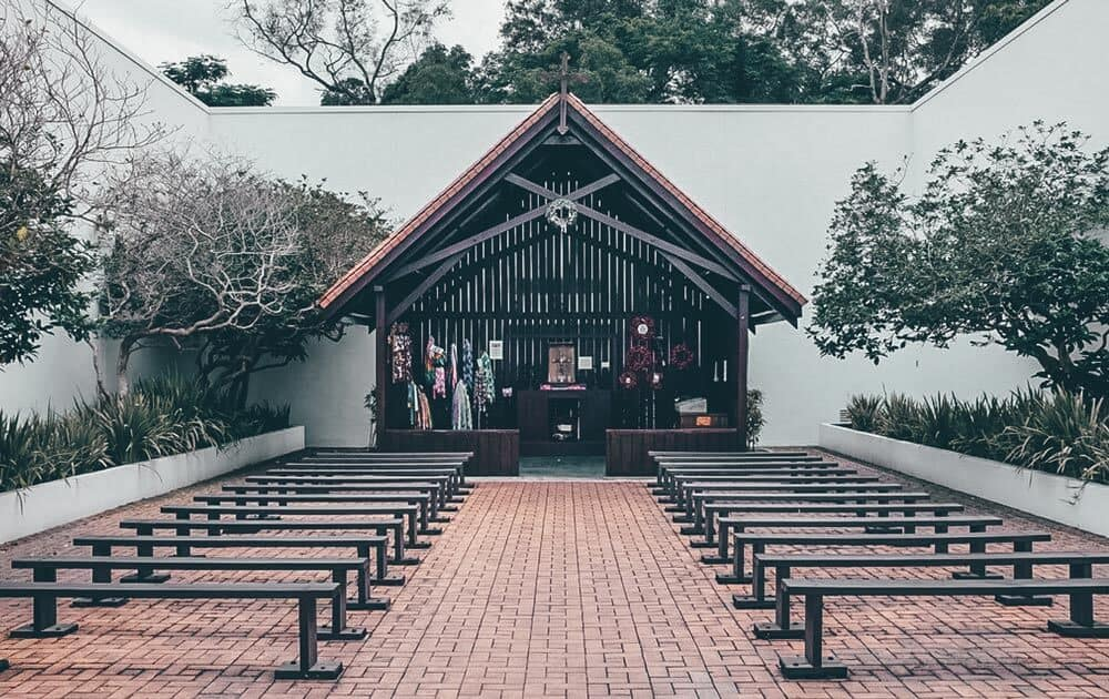 Changi Chapel and Museum in Singapore.