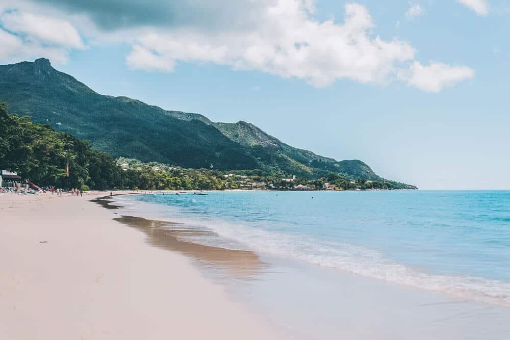 Beau Vallon Beach Seychelles, Mahe Island