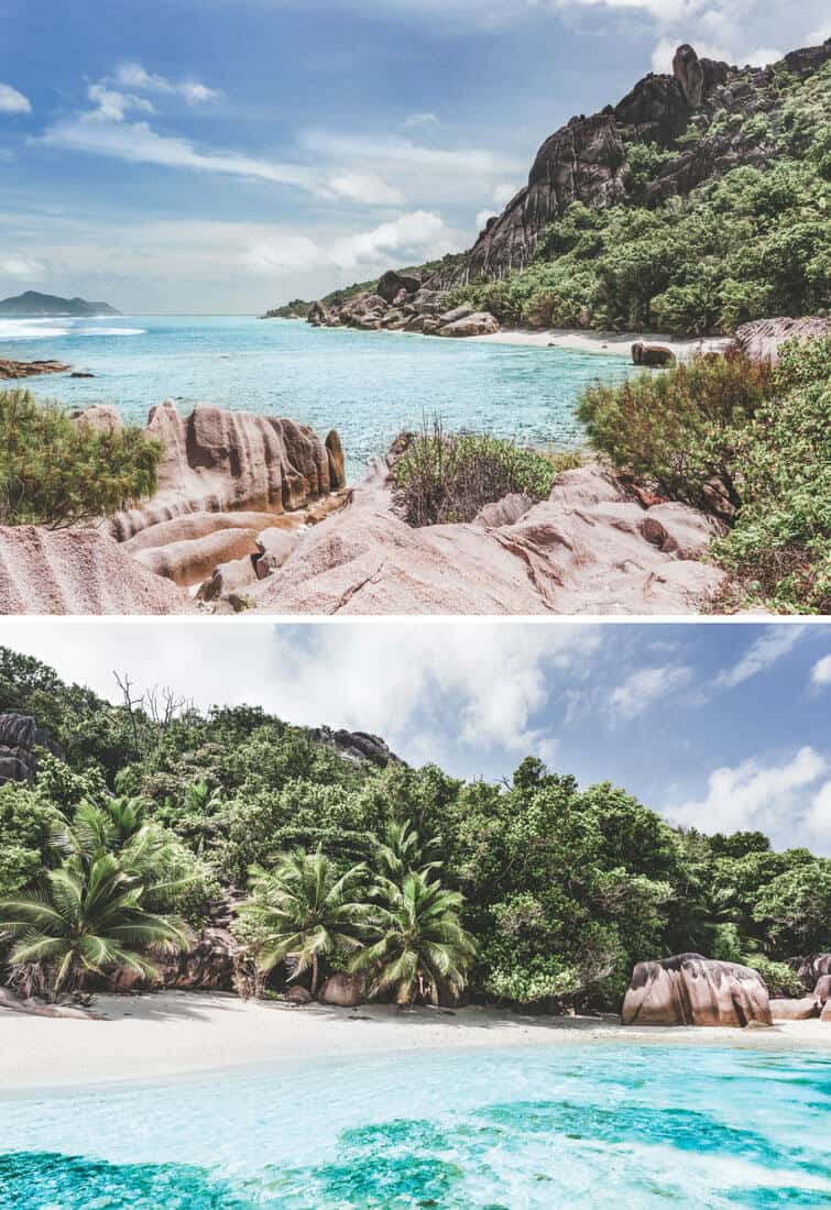 Anse Pierrot Beach on La Digue Island in the Seychelles!