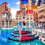 Gondola ride at the Venetian hotel in Las Vegas Nevada! Top 10 Must do's in Vegas for First Timer's! Whether you are taking selfie's in front of the welcome to Las Vegas sign or exploring the Bellagio fountains on the Las Vegas Strip there are so many top attractions in Las Vegas! See the best things to do in Las Vegas this summer by visiting https://www.avenlylanetravel.com/top-10-must-do-in-vegas-for-first-timers-las-vegas-tips/ #vegas #lasvegas #travel #usatravel #vacation #vegasvacation #nevada #USA #avenylanetravel