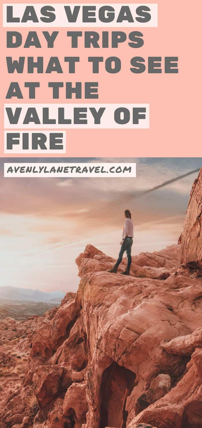 Las Vegas Day Trip to the Valley of Fire! What to do and see in Las Vegas and what to see at the Valley of Fire State Park! #lasvegas #vegas #avenlylane #avenlylanetravel #usatravel #roadtrip
