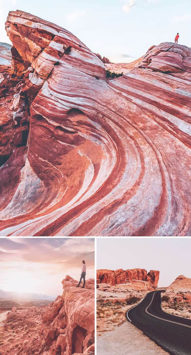 Valley of Fire Las Vegas. Top 10 Must do's in Vegas for First Timer's! Whether you are taking selfie's in front of the welcome to Las Vegas sign or exploring the Bellagio fountains on the Las Vegas Strip there are so many top attractions in Las Vegas! See the best things to do in Las Vegas this summer by visiting https://www.avenlylanetravel.com/top-10-must-do-in-vegas-for-first-timers-las-vegas-tips/ #vegas #lasvegas #travel #usatravel #vacation #summertravel #nevada #USA #avenylanetravel