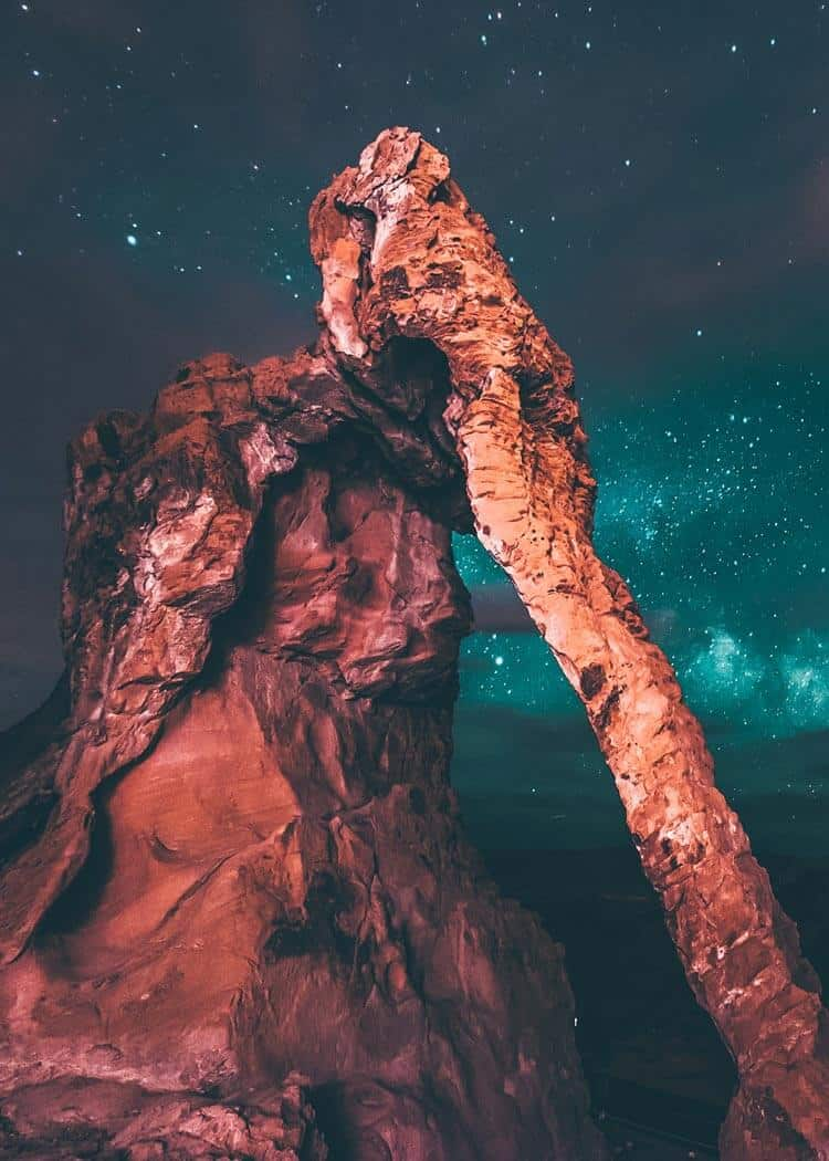 Elephant rock hike - Valley of Fire Las Vegas