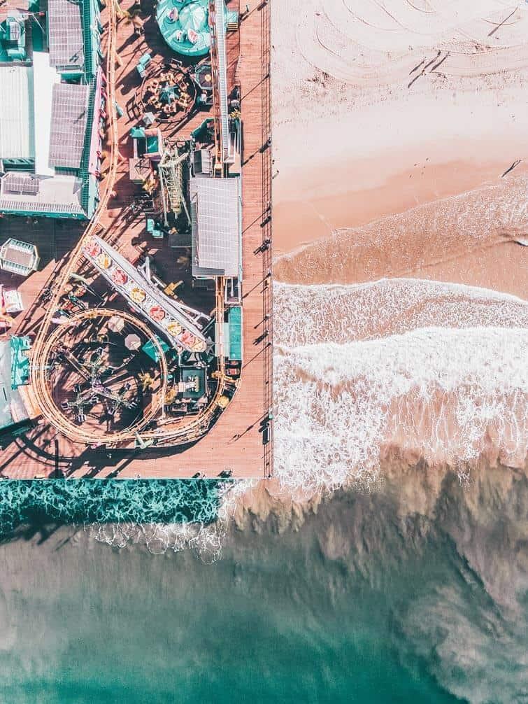 Santa Monica Pier Beach
