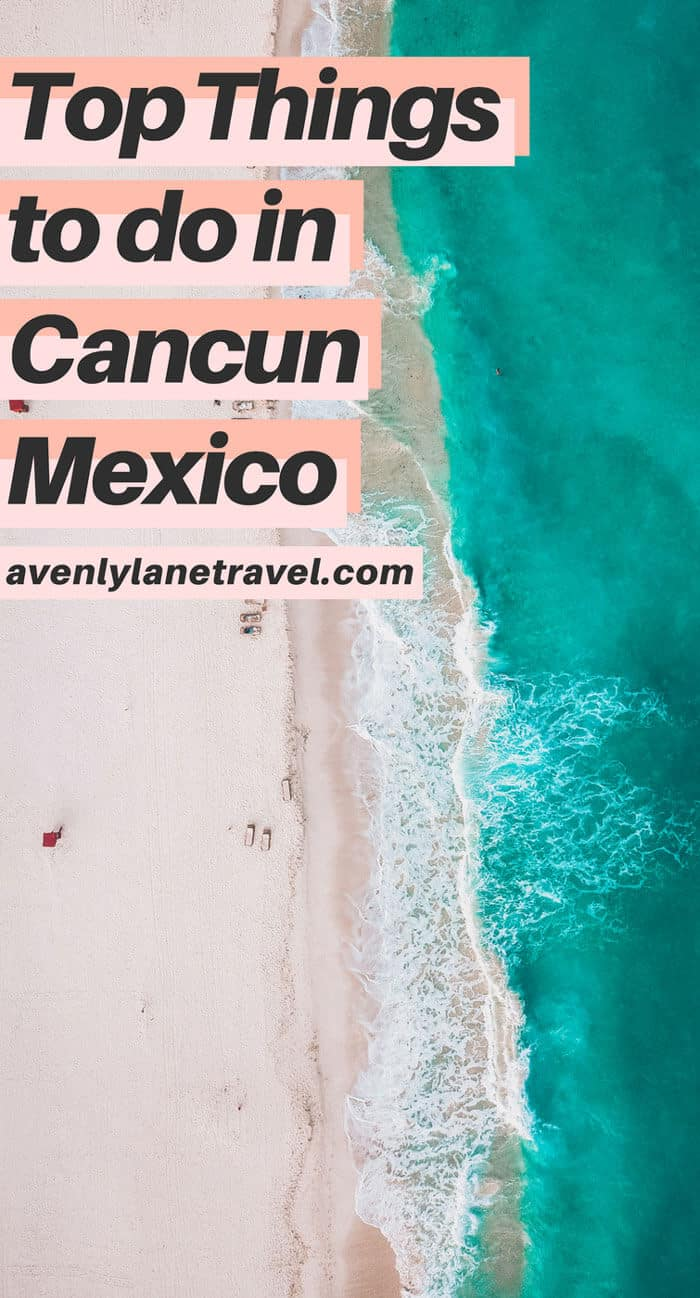 Fun things to do in Cancun!